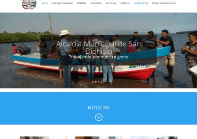 Alcaldía San Dionisio – Sitio web